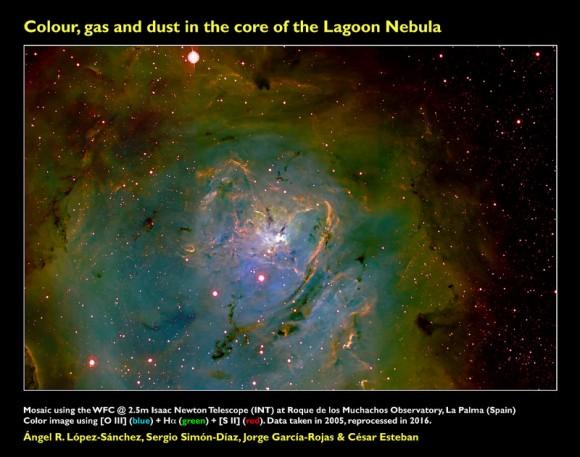 Dos visiones de la Nebulosa de la Laguna