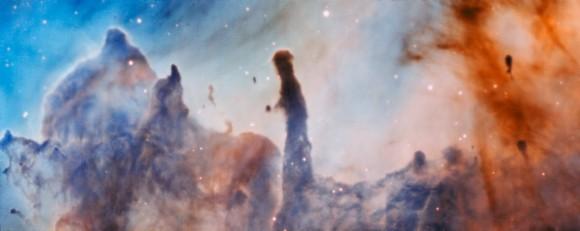 Imagen de la región R44 dentro de la Nebulosa de Carina. Más información aquí. Crédito ESO/A. McLeod.