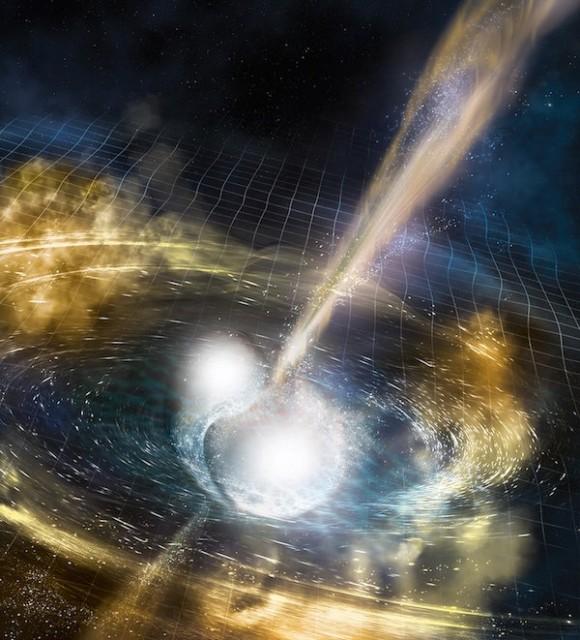 Primera detección de la contrapartida electromagnética de un evento de ondas gravitacionales