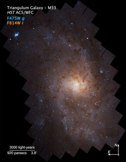 Zoco de Astronomía: La galaxia del Triángulo