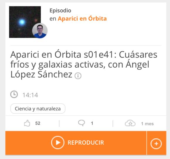 """Entrevista en """"Aparici en Órbita"""", Onda Cero"""