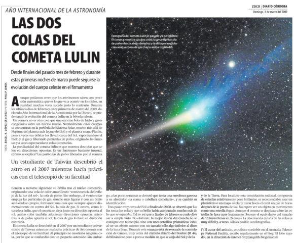 Contando Zocos de Astronomía